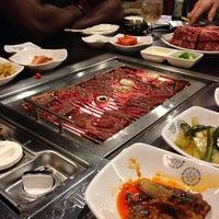 Photo taken at Sariwon Korean BBQ Restaurant 사리원 by Rob L. on 10/4/2013