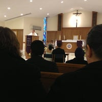 Photo taken at Holy Family Church by Rob L. on 12/8/2012