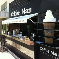 Photo taken at Coffee Man by Uthai S. on 6/2/2013