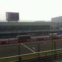 Photo taken at Buddh International Circuit by Vihan S. on 10/28/2012