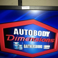 Photo taken at Autobody Dimensions - Gaithersburg by Alyssa W. on 11/16/2012