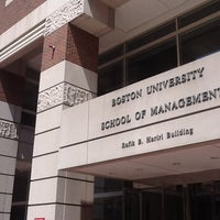 Photo taken at Boston University Questrom School of Business by joseph r. on 4/29/2013