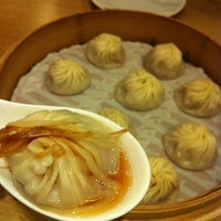 Photo taken at Din Tai Fung by Yoonsun J. on 12/25/2012
