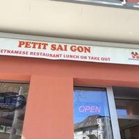Photo taken at Petit Saigon by Dancing B. on 3/20/2014