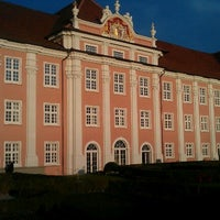 Photo taken at Neues Schloss by Udo K. on 10/5/2012