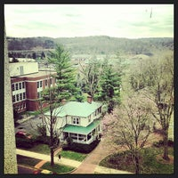 Photo taken at Vernon R Alden Library by Eric M. on 4/12/2013