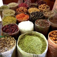 Photo taken at Spice Souq سوق البهارات by Sara A. on 2/23/2013