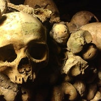 Photo taken at Catacombs of Paris by Dione S. on 7/27/2013