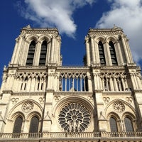 Photo taken at Cathedral of Notre Dame de Paris by Dione S. on 6/14/2013