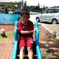 Photo taken at Taman Bermain Abdullah by Dwiki S. on 12/27/2013