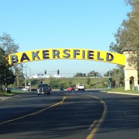 Photo taken at The Bakersfield Sign by Susan E. on 12/9/2013