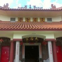 Photo taken at Tien Hau Temple by Quyen Q. on 12/1/2012