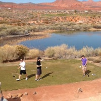 Photo taken at Coral Canyon Golf Course by Laura K. on 2/16/2014