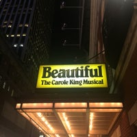 Photo taken at Beautiful: The Carole King Musical by Mauricio N. on 12/13/2016