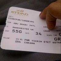 Photo taken at EY471 CGK-AUH / Etihad Airways by sandry s. on 5/19/2014