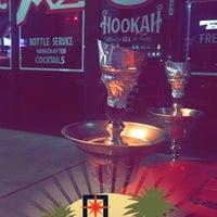 Photo taken at Azuza Hookah Lounge & Cafe by Abdullah on 4/19/2017