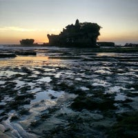 Photo taken at Tanah Lot Temple by Eugenie P. on 7/29/2013