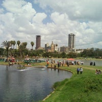 Photo taken at Uhuru Park by Patrick M. on 11/25/2012