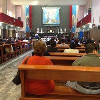 Photo taken at Iglesia de Santa Rosa by Matette S. on 12/29/2013