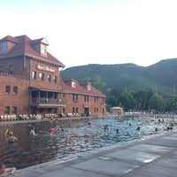Photo taken at Glenwood Hot Springs by Molly B. on 6/11/2013