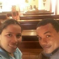 Photo taken at Igreja São João Batista by Michelle C. on 12/26/2015