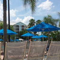 Photo taken at Poolside @ Marriott Harbour Lake by Bbq A. on 7/21/2014