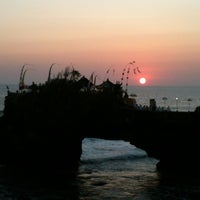 Photo taken at Tanah Lot Temple by Farah S. on 9/15/2012