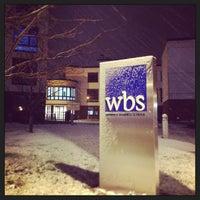 Снимок сделан в Warwick Business School пользователем PattY A. 2/13/2013