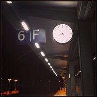 Photo taken at Gleis 6 by Marcus W. on 11/21/2013
