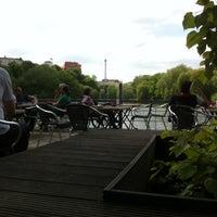 Das Foto wurde bei Bootshaus Stella am Lietzensee von Amir F. am 5/17/2013 aufgenommen
