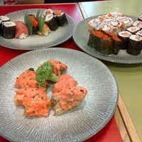 Photo taken at Sushi Kiosk by H U S N U L on 1/19/2013