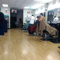 Photo taken at Friendly Barbers by Don C. on 4/11/2014