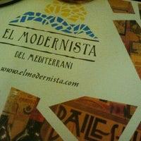 Foto tomada en El Modernista por Raquel N. el 10/7/2012