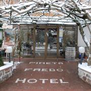 Photo taken at Hotel Pineta Faedo by Vero N. on 1/14/2013