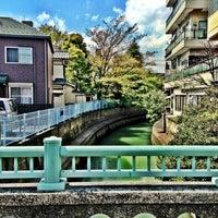Photo taken at 濱川橋 by Kazz O. on 4/12/2013