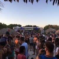 Photo taken at Crazy Bull On The Beach by Ivan G. on 7/3/2016