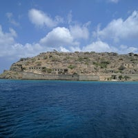 Photo taken at Spinalonga by Andrew M. on 8/13/2016