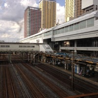 Photo taken at Nippori Station by Junichi S. on 9/30/2012