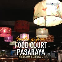 Photo taken at Food Court Pasaraya Grande by Aie A. on 4/2/2013