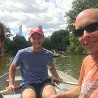 Photo taken at Central Park Rowboat by Nancy J. on 8/26/2017