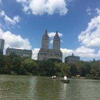 Photo taken at Central Park Rowboat by Nancy J. on 8/25/2017