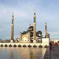 Photo taken at Masjid Kristal by Nita S. on 6/1/2013