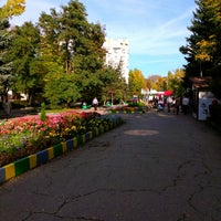 Photo taken at Городской парк культуры и отдыха им. М. Горького by Dmitriy on 10/5/2012
