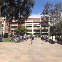 Photo taken at UCLA Court of Sciences Student Center by Eric M. on 4/9/2014