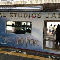 Photo taken at JR Nishikujō Station by Miya on 8/4/2013