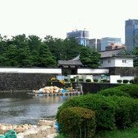 Photo taken at Sakuradamon Gate by Yuji N. on 9/24/2012