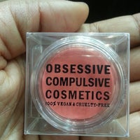 Photo taken at Obsessive Compulsive Cosmetics by Bethany T. on 2/18/2013