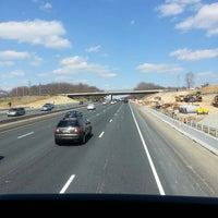 Photo taken at Megabus Stop - White Marsh Park & Ride by Bethany T. on 4/2/2013