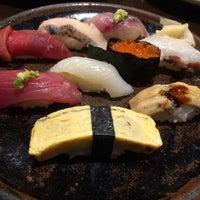 Photo taken at Sushi Sanrikumae by i I. on 3/23/2016