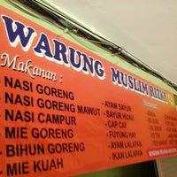 Photo taken at Warung Muslim Rizky by Deni R. on 12/3/2013